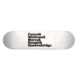 The Projects 19.7 Cm Skateboard Deck