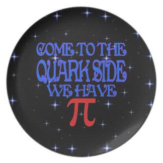The Quark Side Plates
