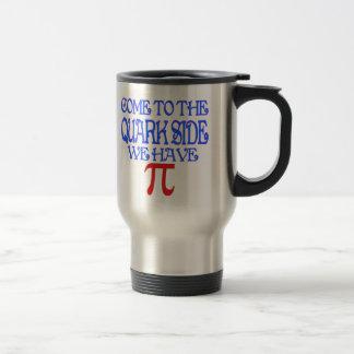 The Quark Side Stainless Steel Travel Mug