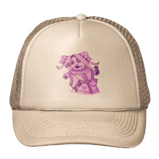 The Queen by Lewis Carroll Purple Tint Cap