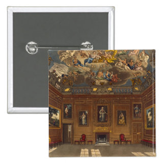 The Queen's Audience Chamber, Windsor Castle, from 15 Cm Square Badge