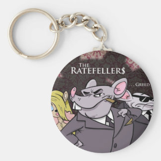 The Ratafellers merchandise Basic Round Button Key Ring
