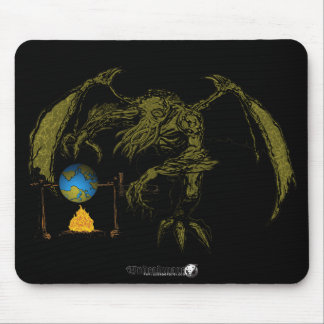 The Real Cause of Global Warming Mouse Pad