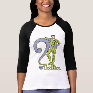 The Riddler & Logo Green T Shirt