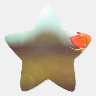 The Rose Star Sticker