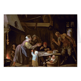 The Satyrs and the Family Greeting Card