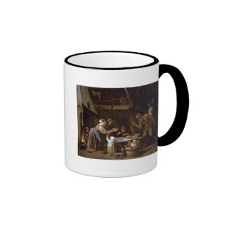 The Satyrs and the Family Ringer Mug