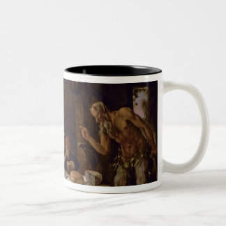 The Satyrs and the Family Two-Tone Mug