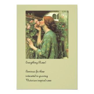 The Scent of Roses 13 Cm X 18 Cm Invitation Card