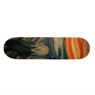 The Scream - Edvard Munch Skate Boards