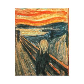 The Scream Edward Munch Screaming Canvas Prints