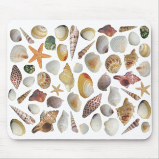 The Shell Collector Mouse Pad