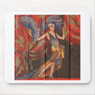 The Showgirl Mouse Pad