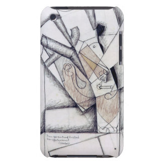 The Smoker, 1912 (charcoal & red chalk on paper) iPod Touch Case-Mate Case
