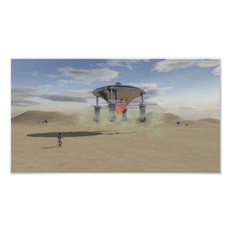 The Spaceships of Ezekiel Poster