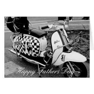 THE SPECIALS SCOOTER FATHERS DAY CARD