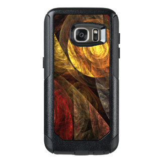 The Spiral of Life Abstract Art OtterBox Samsung Galaxy S7 Case