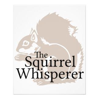 The Squirrel Whisperer 11.5 Cm X 14 Cm Flyer