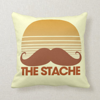 The Stache Retro Design Cushions