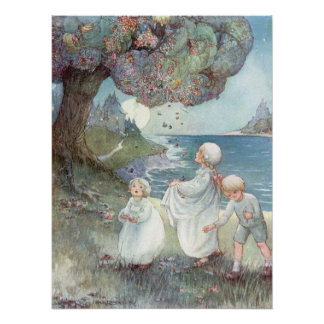 The Sugar Plum Tree by Anne Anderson Poster