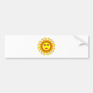 the summer solstice bumper sticker
