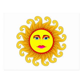 the summer solstice postcard