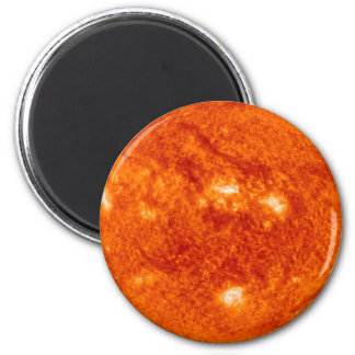 The Sun 6 Cm Round Magnet