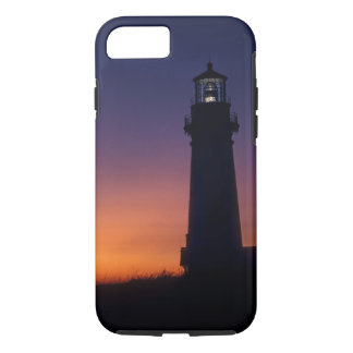 The sun ball drops down on the colorful horizon iPhone 7 case