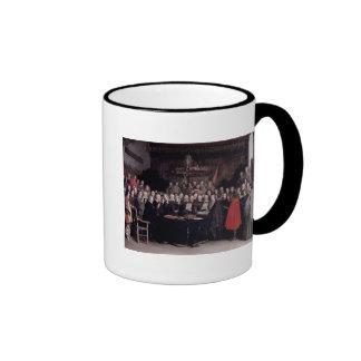 The Swearing of the Oath of Ratification Ringer Mug
