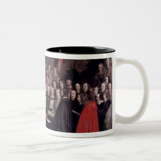 The Swearing of the Oath of Ratification Two-Tone Mug