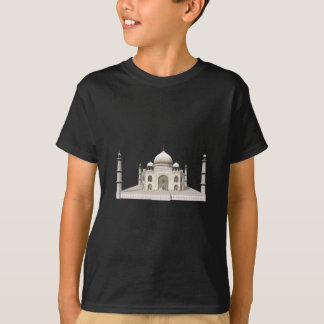 The Taj Mahal: 3D Model: Tshirts
