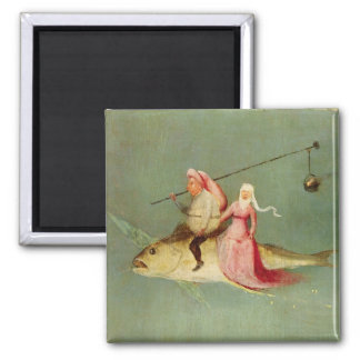 The Temptation of St. Anthony 2 Square Magnet