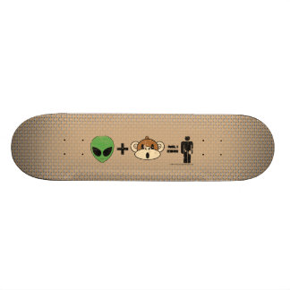 The Terrestrial Freewill Project 21.6 Cm Skateboard Deck