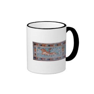 The Toreador Fresco, Knossos Palace, Crete Ringer Mug