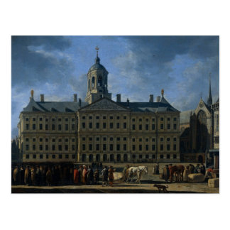 The town hall on the Dam, Amsterdam Postcard