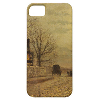 The Turn of the Road by John Atkinson Grimshaw Case For The iPhone 5