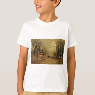 The Turn of the Road by John Atkinson Grimshaw Shirts