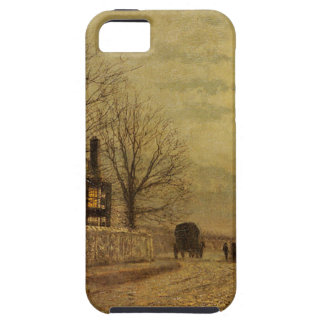 The Turn of the Road by John Atkinson Grimshaw Tough iPhone 5 Case
