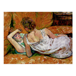 The Two Friends by Henri de Toulouse-Lautrec Postcard