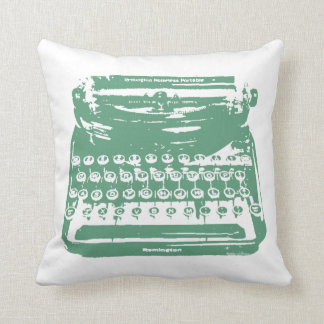 the typewriter - green cushions