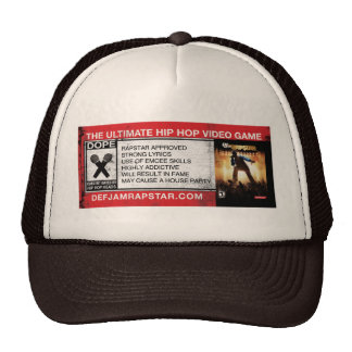 The Ultimate Hip-Hop Video Game Cap