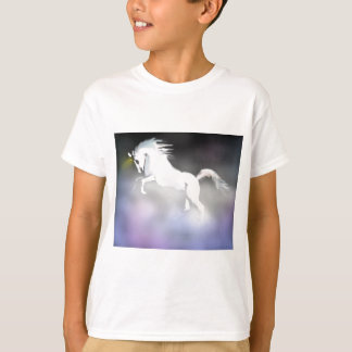 The Unicorn in the Mist T-shirts