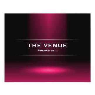 The Venue Presents - Crimson 11.5 Cm X 14 Cm Flyer