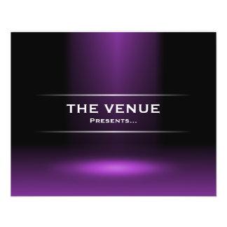 The Venue Presents - Purple 11.5 Cm X 14 Cm Flyer