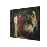 The Wedding of Alexander the Great  and Roxana Canvas Prints
