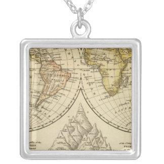The World Square Pendant Necklace