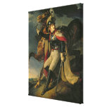 The Wounded Cuirassier, 1814 Stretched Canvas Print