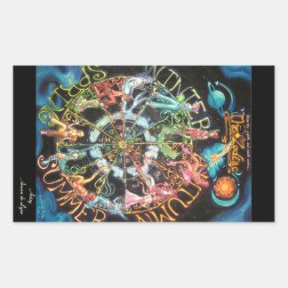The Zodiac Rectangular Sticker