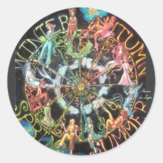 The Zodiac Round Sticker