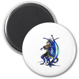 TheDragon 6 Cm Round Magnet